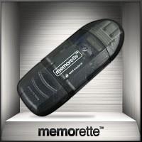 [메모렛] SD / SDHC 리더기 / 32G 이상 고용량 지원 / USB2.0 초고속 / 카드리더기
