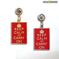 Keep calm and carry on 이어캡