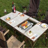 제드 4폴딩 슬림 BBQ 테이블