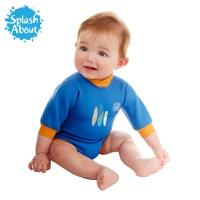 [스플래시어바웃] 해피내피웨트슈트 (서프업). 수영기저귀 일체형 아기수영복
