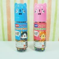 3000 고양이 컬러싸인펜(18색)