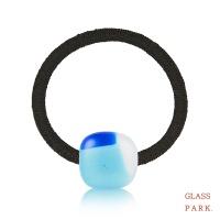 [무료배송] [글라스파크]컬러 유리 머리끈(블루계열)