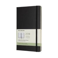 몰스킨 2018위클리(세로형)/블랙 하드 L