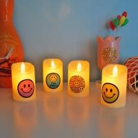흔들리는 촛불 LED 양초