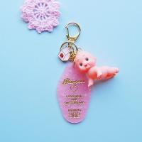 토이 키링-핑크 리조트키(엉금엉금)