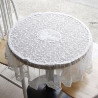 [2HOT] 레이스 원탁 테이블 커버