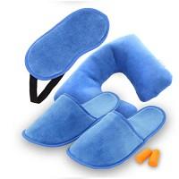 여행편의용품 6종세트 - 블루