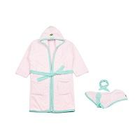 (H) SWEET BATH ROBE pink