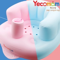 [예꼬맘] 휴대용 아기의자 부스터 에어쿠션