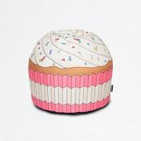 [까쁘레띠]우프 (Woouf) 핑크 컵케이크 빈백