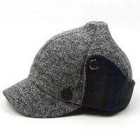 승마 귀달이모자 S1126 체크배색 모자 방한모자