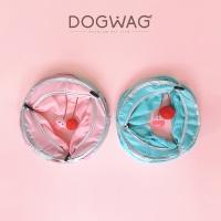[도그웨그 DOGWAG] 고양이 터널 장난감