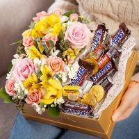 FN2314 You&Me 유앤미(꽃+초콜렛)