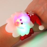 LED점등 산타인형팔찌 10개한팩