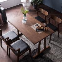 [채우리] 바티코 고무나무원목 4인식탁세트(의자)