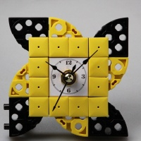 바람개비2-1 블럭시계 (170383) 블럭레고형시계