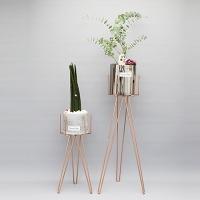 육각 화분 스탠드(H)-14.5(지름) x 60cm