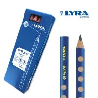 [리라] 그루브 점보 연필 HB1자루 (낱개판매)