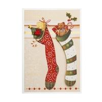 크리스마스카드/성탄절/트리/산타 크리스마스 카드 (FS1010-5)