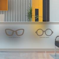dgse114-클래식 안경-반투명시트지