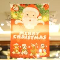 크리스마스 배너현수막 (퍼니산타)