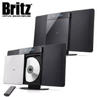 브리츠 블루투스 오디오 스피커 BZ-T6320 (CD 플레이어 & USB메모리 재생 / FM라디오 / 벽걸이 가능 / 알람 & 타이머 / MP3 & 스마트폰폰 등 외부연결 AUX 단자 / 리모컨)