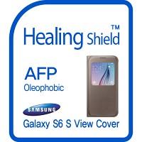 [힐링쉴드] 삼성 정품 갤럭시S6 S-뷰커버 AFP 올레포빅 액정보호필름 2매(HS151130)
