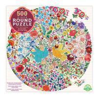 파랑새와 방울새 500피스 직소퍼즐 (지름 58.5cm)