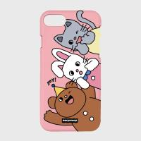 Animal friends-pink(color jelly)