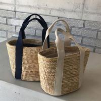 라인빅 여성 라탄백 왕골가방 숄더백 여름가방