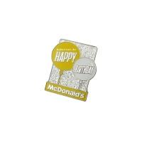 맥도널드 핀뱃지 _ Happy Birthday (Yellow)