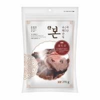 본 수제간식 (돼지코) 270g - pb