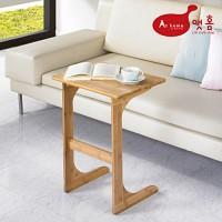 앳홈 대나무 원목 이즈 중형 사이드 테이블