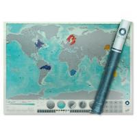 [원더스토어] 럭키스 스크래치 맵 오션