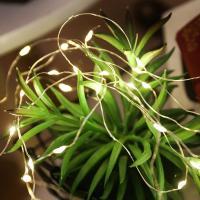 크리스마스 DIY 컬러 트리 만들기_LED와이어전구