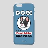 [어프어프] 하드케이스 French bulldog-sky blue