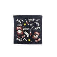 페코짱 포스터 핸드 타월 (네이비)