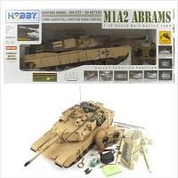 1/16 빅스케일 M1A2 에이브람스 탱크 RTR R/C모형 (HBE298174SA) 무선모형 RC탱크