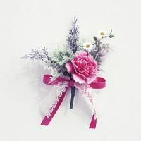 봄봄카네이션 부토니에 핑크