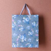 (와인앤쿡)flower 반짝이 쇼핑백1개(디자인랜덤)