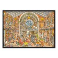 1500조각 직소퍼즐▶ 박제품 박물관 (HE29794)