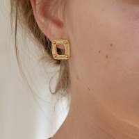 simple square earring