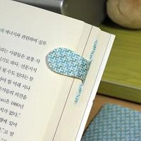 [플라스틱 and 자석 자동책갈피수지인] 패턴크로스