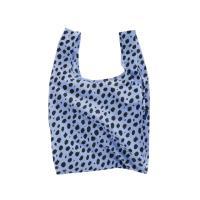 [바쿠백] 휴대용 장바구니 시장가방 Blue Cheetah