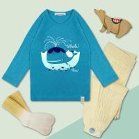 [플루토나인] 고래 나그랑 티셔츠