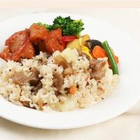 [허닭] 곤약뿌리채소영양밥&숯불닭갈비 도시락
