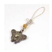 매듭열쇠고리(나비문)