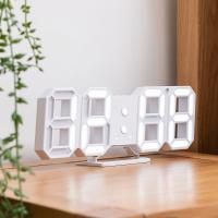 오리엔트 OT1618W 3D입체 자동밝기 디지털탁상시계