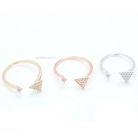 [이자벨미뇽] 피라미드큐 프리사이즈 반지 RA10030