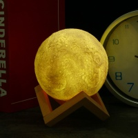 3D 달 무드등 15cm 수유등 인테리어무드등 달조명